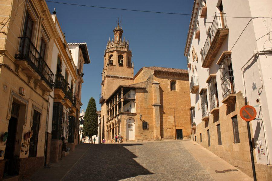 Biserică în Ronda, Sudul Spaniei