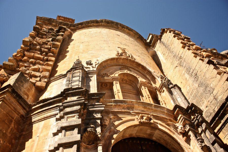 Fațadă biserică spaniolă