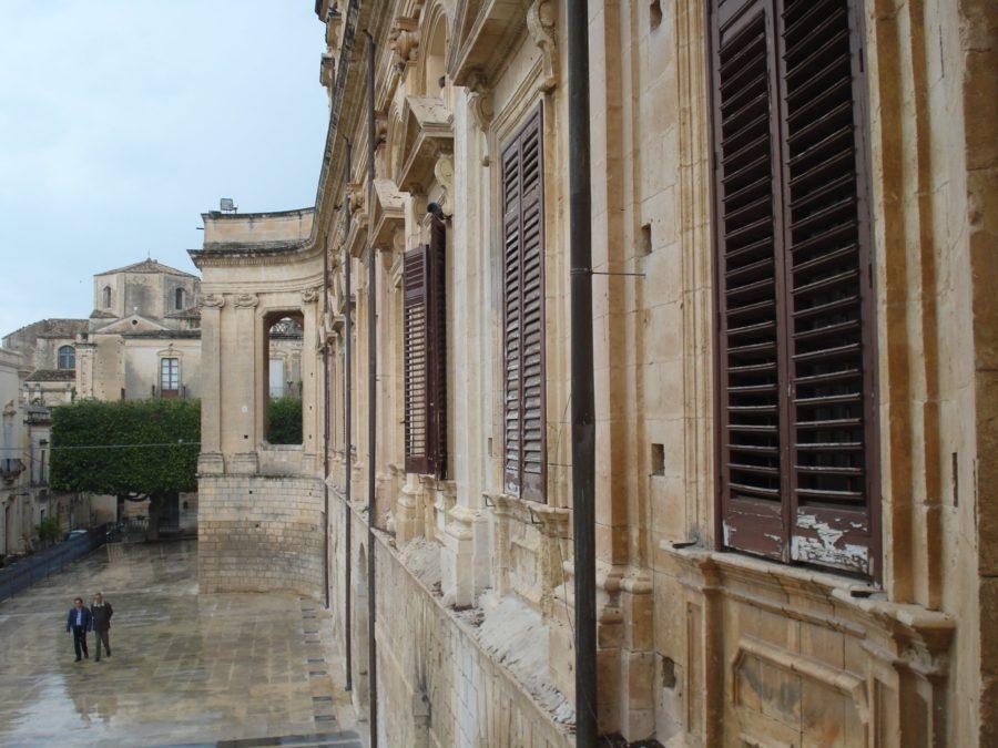 Clădiri în Noto, Sicilia
