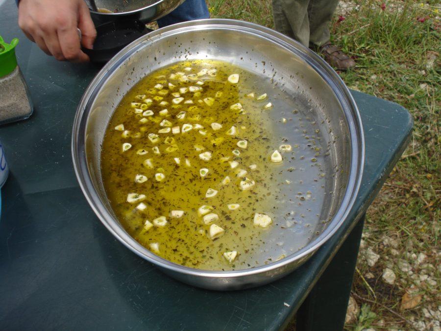 Sos sicilian pentru carne la grătar