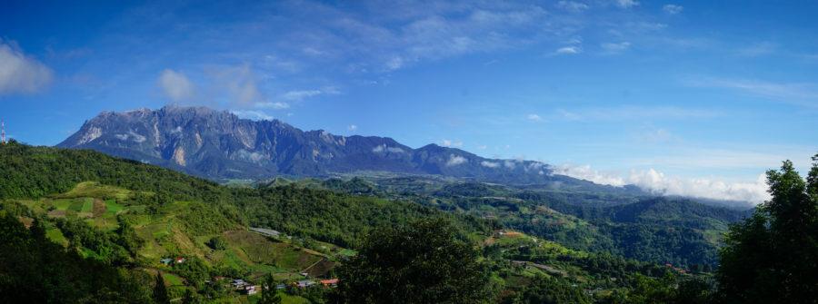 Borneo, Kota Kinabalu mountain