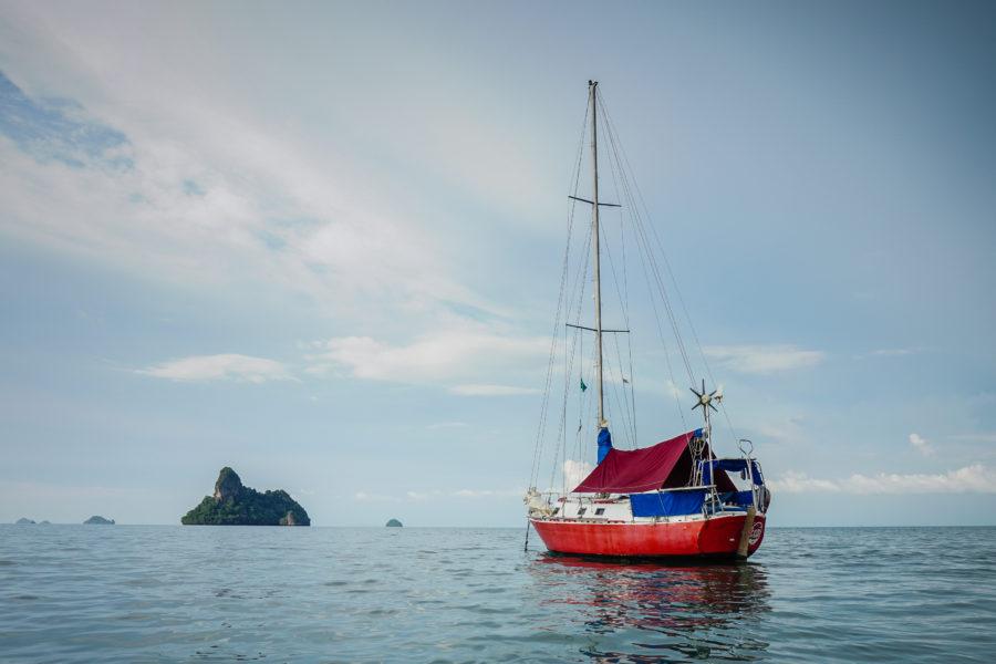 Sailing the Andaman Sea