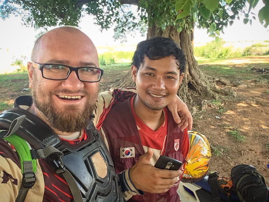 Cambodia motorcycle offroad tour