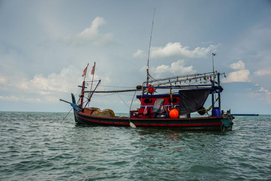 Fishing boat in the Andaman sea
