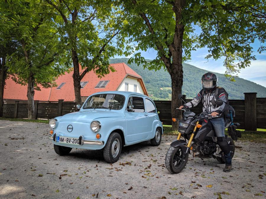 Honda Grom and Zastava