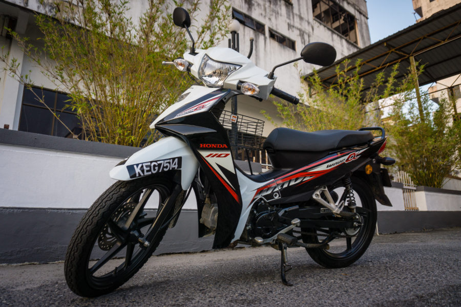 Honda Wave Alpha 110cc, sold in Malaysia