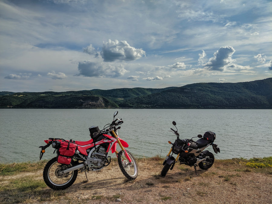 Hondas by the Danube