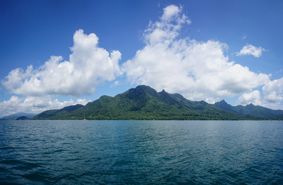 Langkawi from out at sea