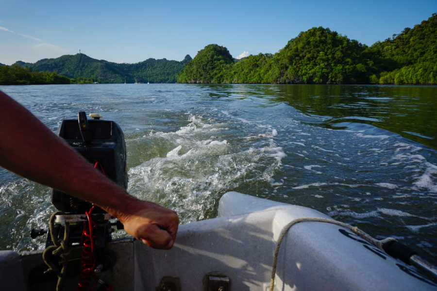 Took the dinghy and explored the rivers in Langkawi