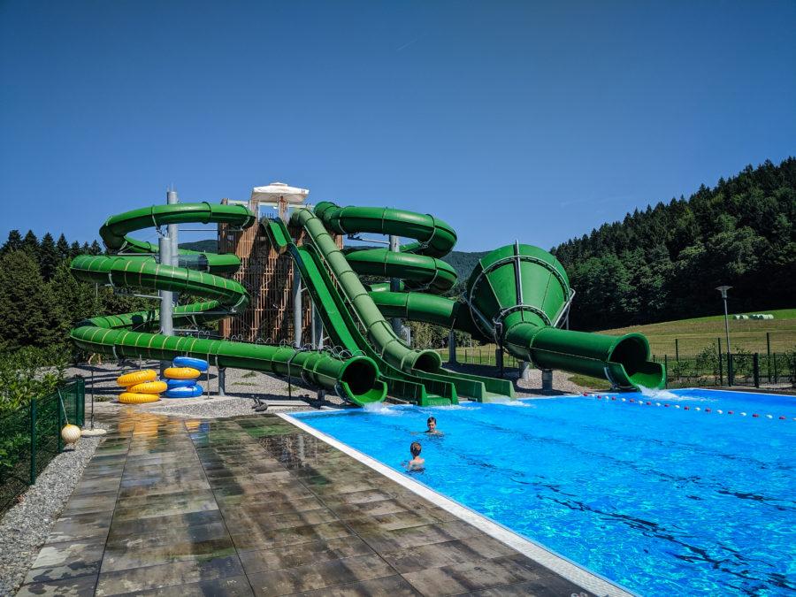 Water slide, Dolenjske Toplice, Slovenia